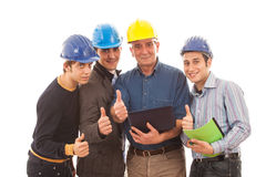 Team of Engineers Royalty Free Stock Photography