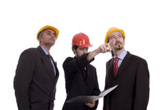 Team of engineers Stock Images