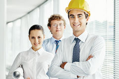 Team of engineers Stock Photography