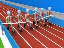 Team-Erfolg vektor abbildung