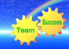 Team-Erfolg Lizenzfreies Stockbild