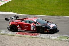 Team Eurotech Lamborghini Gallardo Italian GT 2015 at Monza Stock Photo