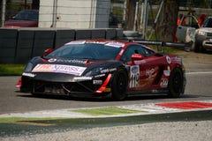 Team Eurotech Lamborghini Gallardo Italian GT 2015 at Monza Stock Photography