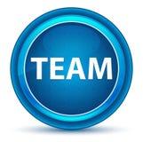 Team Eyeball Blue Round Button ilustração stock