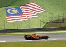 Team f8-VII Christijan Albe van Aldar Spyker van Etihad F1 stock fotografie