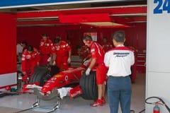 Team Ferrari F1, Engineers Royalty Free Stock Photo