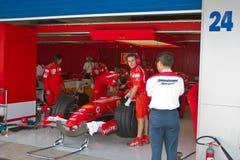 Team Ferrari F1, Engineers Stock Images