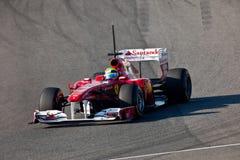 Team Ferrari F1, Felipe Massa, 2011 Stock Image