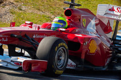 Team Ferrari F1, Felipe Massa, 2011 Royalty Free Stock Photo