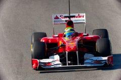 Team Ferrari F1, Felipe Massa, 2011 Stock Photography