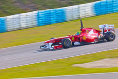Team Ferrari F1, Felipe Massa, 2011 Royalty Free Stock Photography