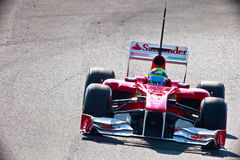 Team Ferrari F1, Felipe Massa, 2011 Stock Photography