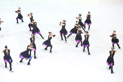 Team Finland One dance Royalty Free Stock Image