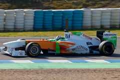 Team Force India F1, Adrian Sutil, 2011 Stock Images