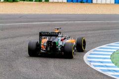 Team Force India F1, Daniel Juncadella, 2014 Stock Photography