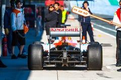 Team Force India F1, Nico Hülkenberg, 2012 Royalty Free Stock Images