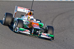 Team Force India F1, Paul Di Resta, 2012 Stock Photo