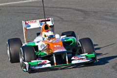 Team Force India F1, Paul Di Resta, 2012 Stock Images