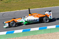 Team Force India F1, Paul Di Resta, 2012 Stock Image