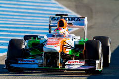 Team Force India F1, Paul di Resta, 2013 Stock Photo