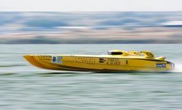 Team FORESTI & SUARDI che partecipano a 5 rotondi dei campionati offshore di Superboat Fotografia Stock