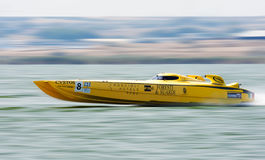 Team FORESTI & SUARDI participating in round 5 of Offshore Superboat Championships Stock Photography