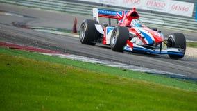 Team GB der Formel-A1 Stockbild