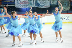 Team Germany dance Stock Images
