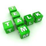 Team-Gesprächs-Konzept Stockfotografie