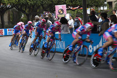 Team of Giro d'Italia Royalty Free Stock Photos