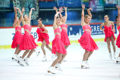 Team Great Britain dance Stock Images