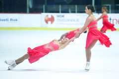 Team Great Britain performing Royalty Free Stock Photos