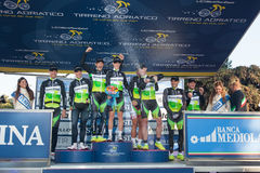 Team Greenedge, winner of the stage Stock Photography