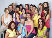Team of hairdressers Royalty Free Stock Photos