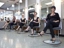 Team of hairdressers Royalty Free Stock Photo