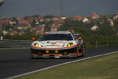 Team Hankook Farnbacher in Qualifying Royalty Free Stock Image