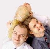 A team of happy business people Royalty Free Stock Photo