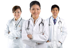 A team of a happy Doctors Stock Photos