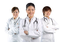 A team of a happy Doctors Stock Photography