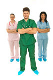 Team of health workers Stock Images