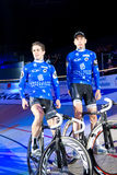 Team Hester Morkov at Sixday-Nights Zuerich 2011 Royalty Free Stock Photography