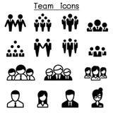Team icons. Vector illustration Graphic design Stock Photos