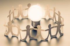 Team Idea Team Success fotografie stock