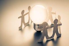 Team Idea Team Success Royalty-vrije Stock Foto