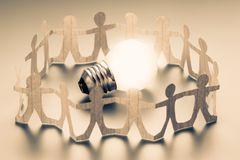 Team Idea Team Success immagine stock libera da diritti