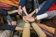 Team il lavoro Fotografia Stock Libera da Diritti
