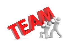 Team. Image contain clipping path Stock Photos