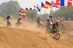 Team IMBA Cup of Nations (motocross) Royalty Free Stock Photography
