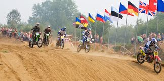 Team IMBA Cup of Nations (motocross) Royalty Free Stock Photo