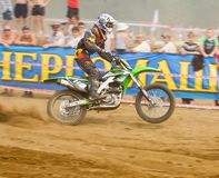 Team IMBA Cup of Nations (motocross) in Vladimir Royalty Free Stock Photography
